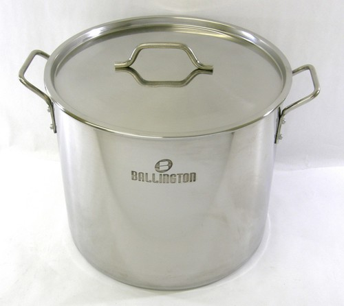 40 quart (10 gallon) Stainless Steel Stock Pot Steamer Brew Kettle