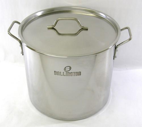 40 quart (10 gallon) Stainless Steel Stock Pot Steamer Brew Kettle