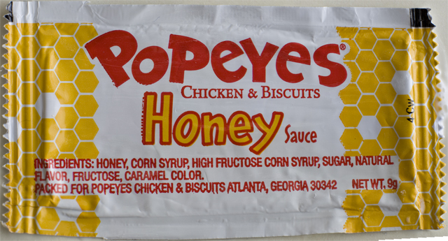 Popeyes Honey Sauce