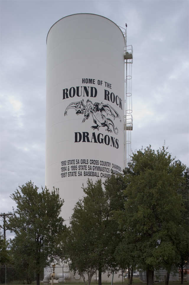Round Rock Water Tower