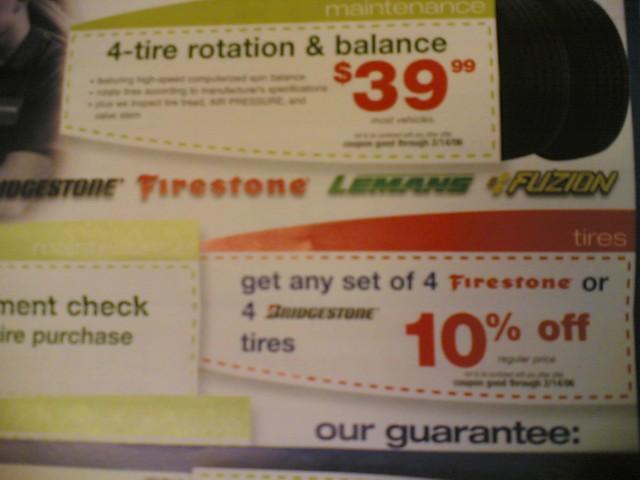 Firestone ad
