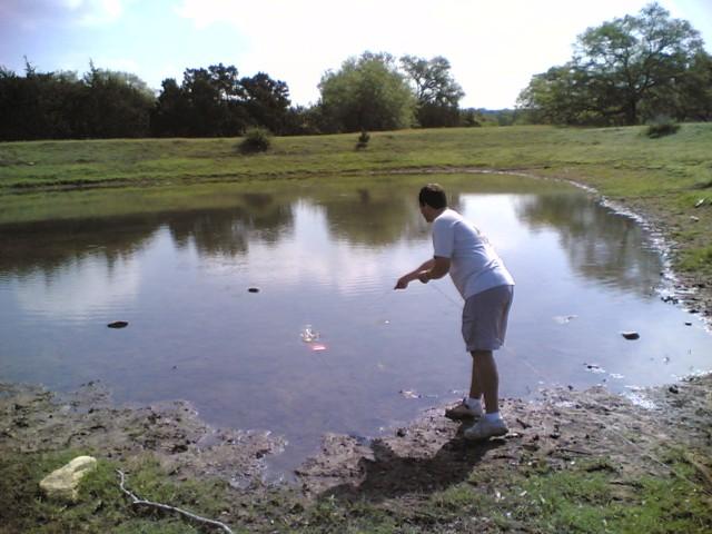 john in lake