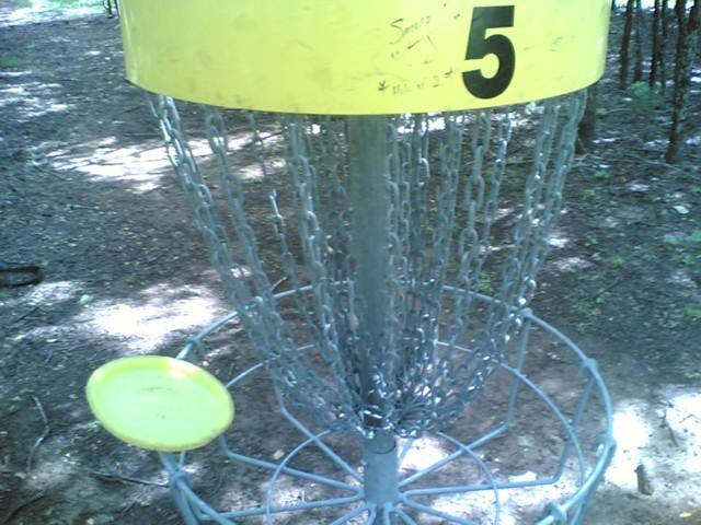 Lucky putt