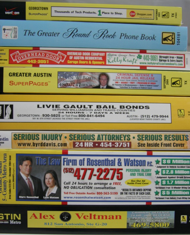 Phone Books 1