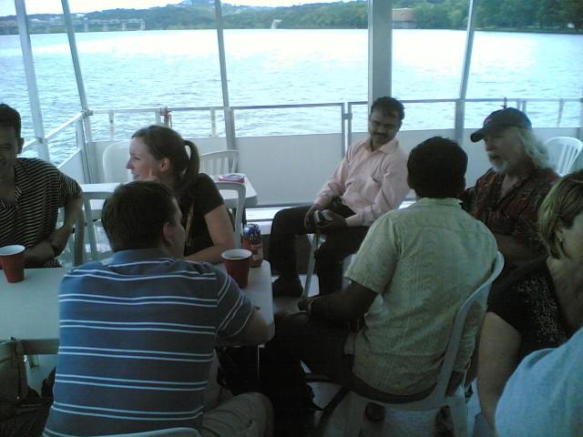 Tichu on boat