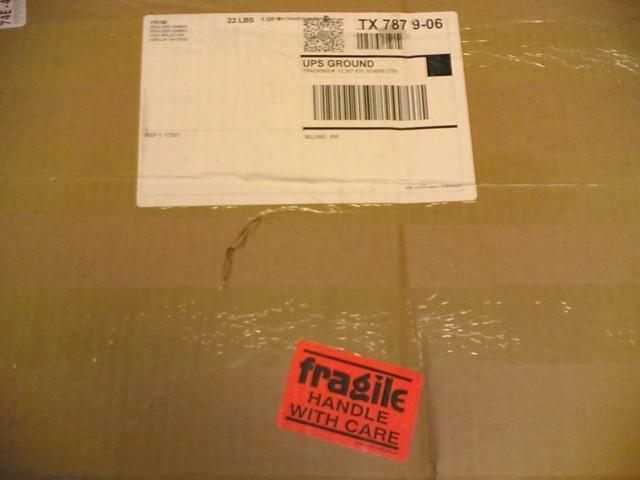shipment arrived