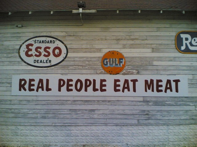 Real People Eat Meat