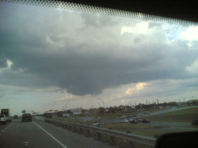 Scary Clouds #1