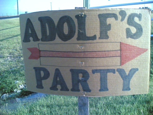 Adolf's party