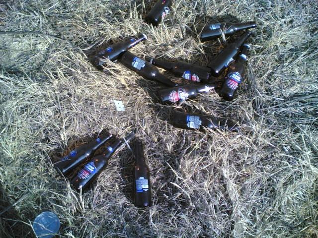 bottle pile #2