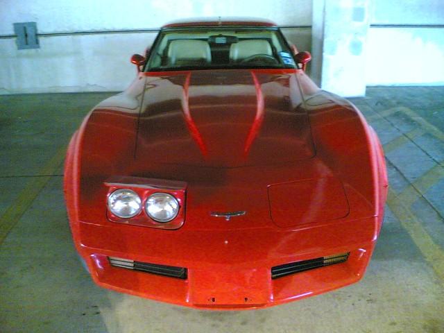 Corvette winking