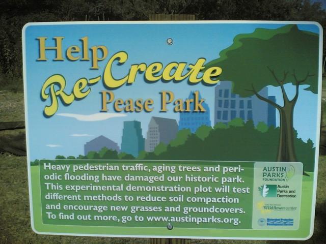 Help recreate Pease Park