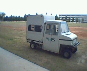 tiny utility truck