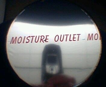 Moisture Outlet