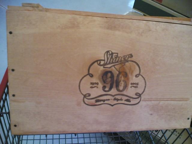 wood box beer