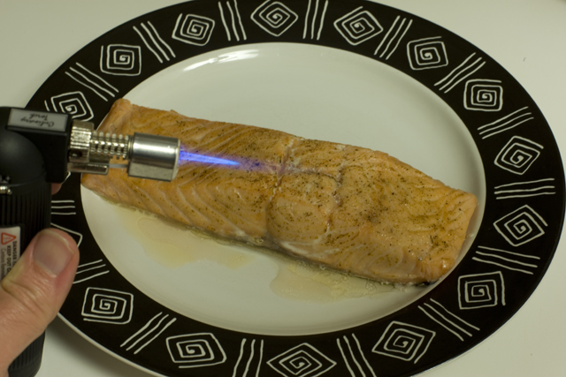 Salmon Sous Vide after
