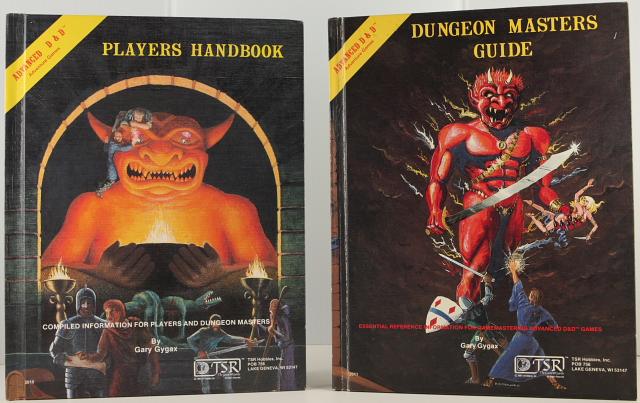 Old D&D books