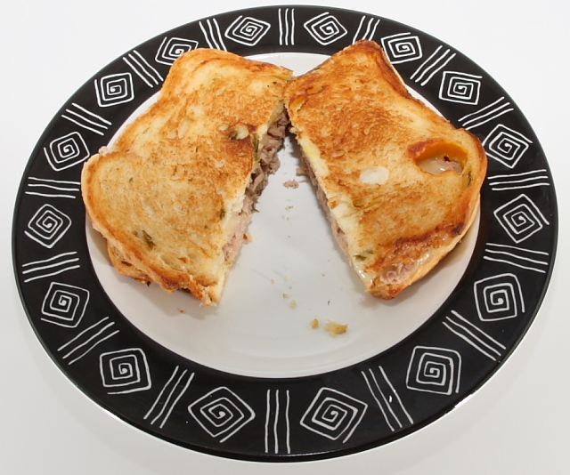 Tuna fish melt sandwich