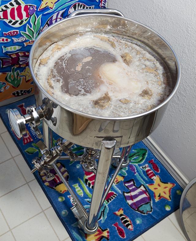 Bigger vat means a bigger scoby