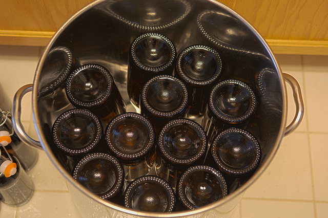 bottling with 750ml bottles