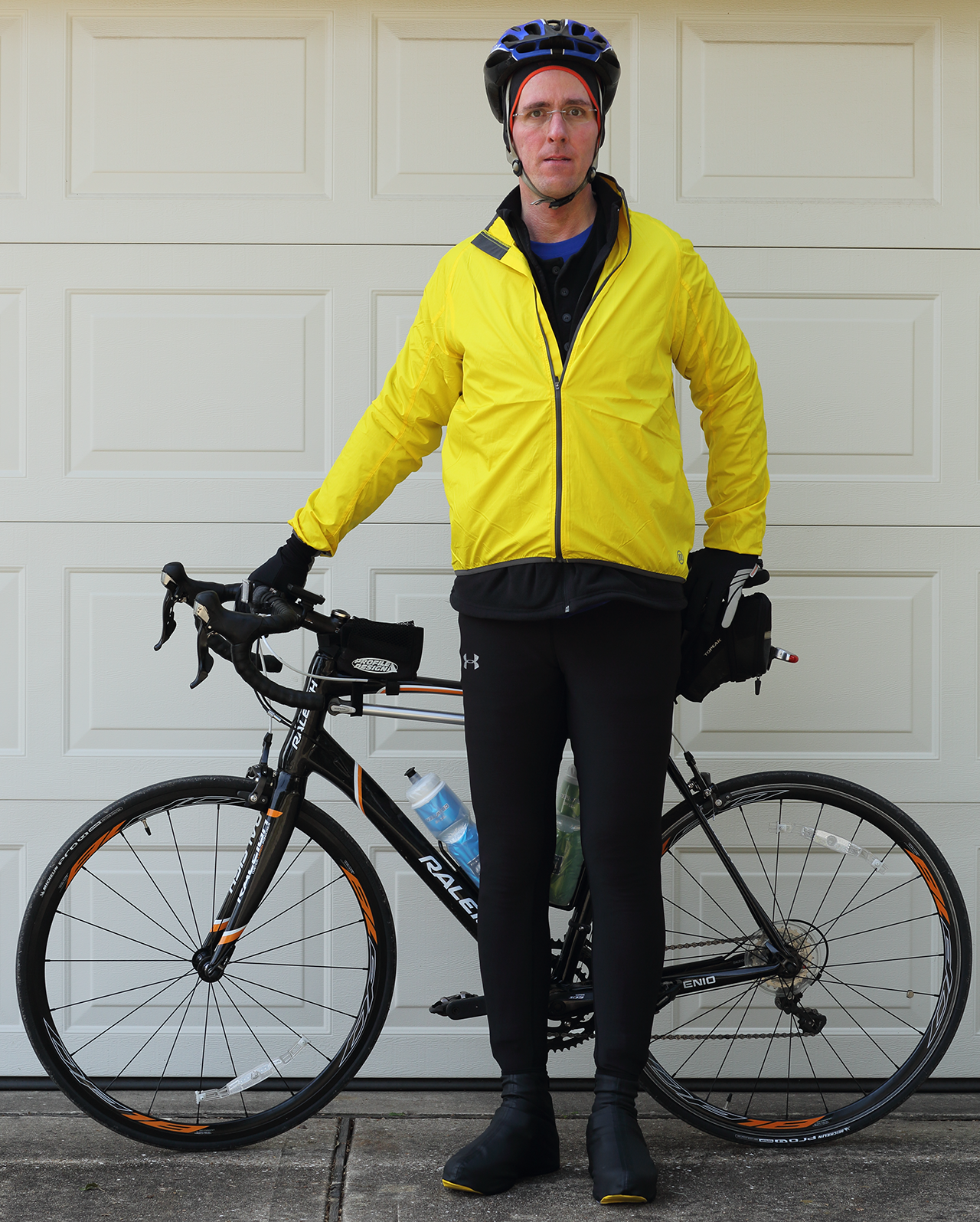 Cold weather biking gear
