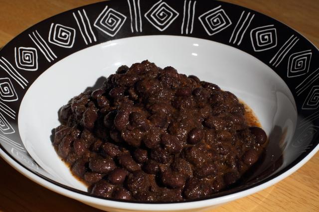 umami black beans