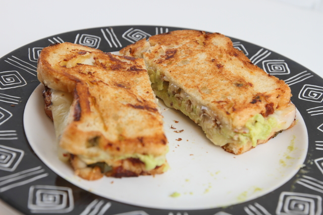 Sardine Avocado Melt