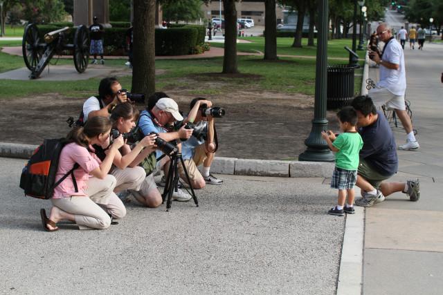 paparazzi shoot