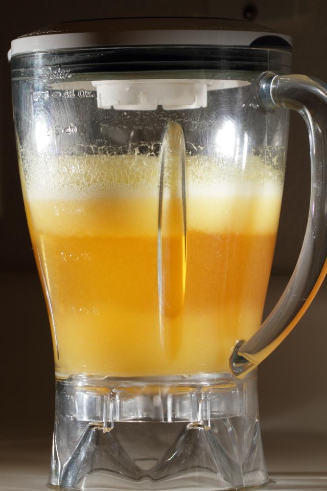Pineapple agua fresca