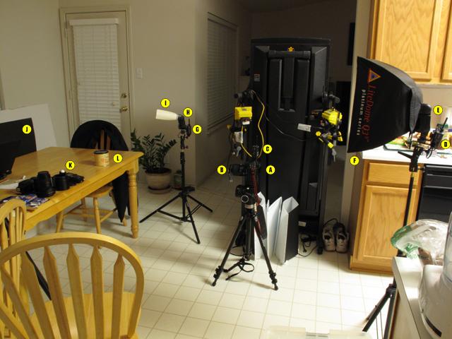 Food Strobist Setup