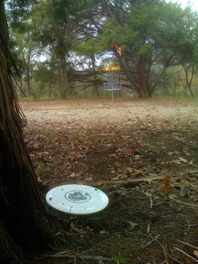 Hole 18 at Lions Park