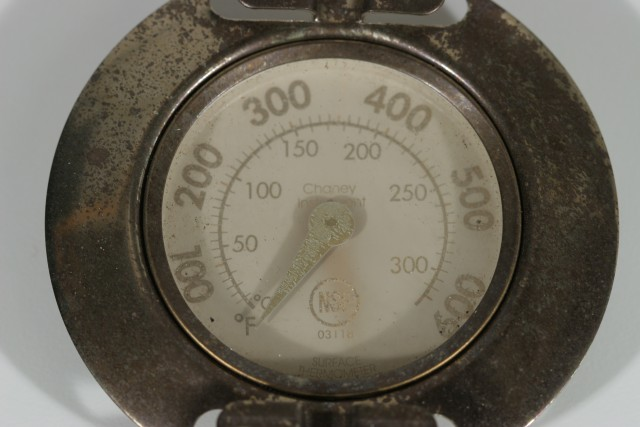 Corroded thermometer