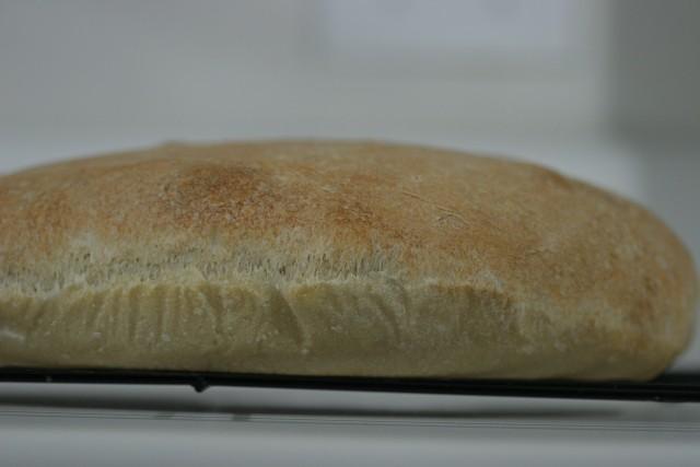 cooked loaf side