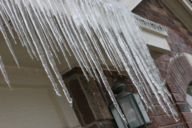 Ice-sickles