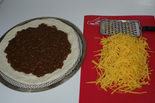 Chili pizza #1