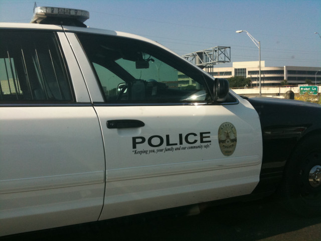 Non-standard Austin Police Car