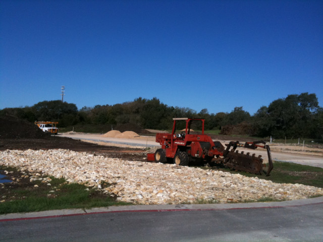 Construction on Brushy Creek 9