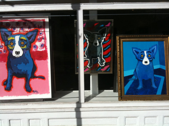 blue dog New Orleans