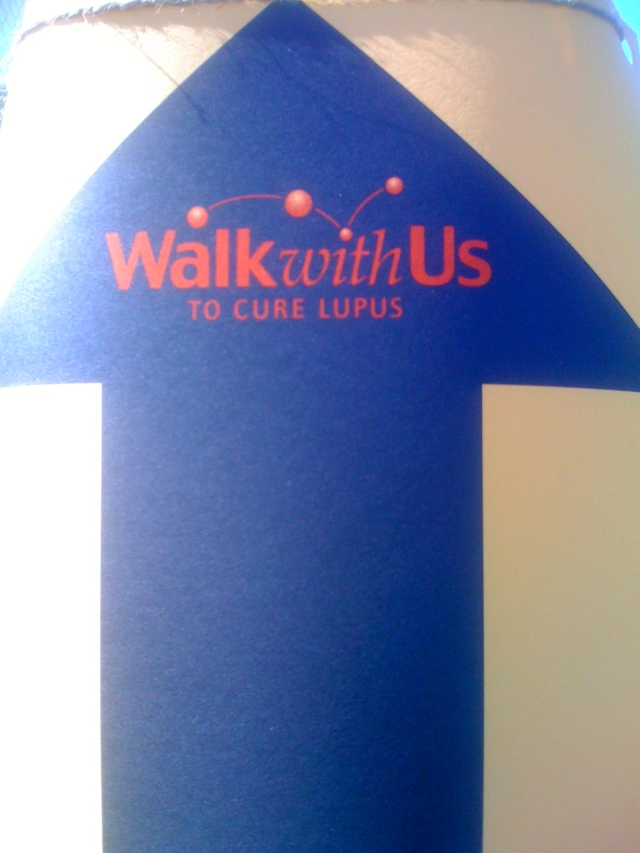 Walk with us to cure lupus