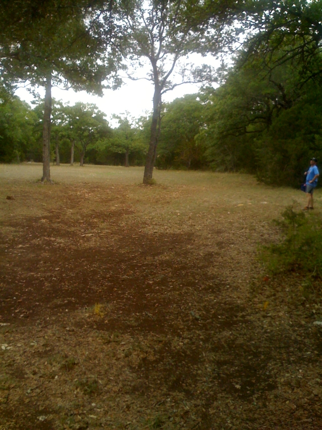 Extra tees on Hole 10