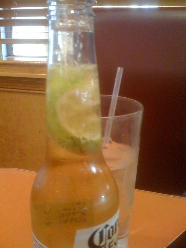 Lime in a Corona