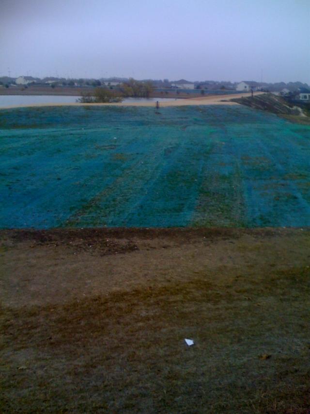 repaved field