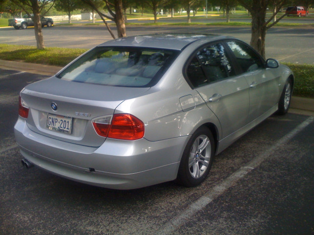 BMW loaner car